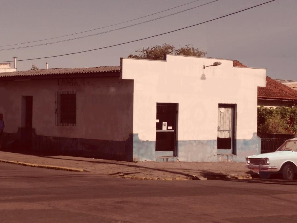 1975 - Faixada Allenge Cachoeirinha - envelhecida